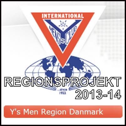 Y's Men, Regionsprojekt 2013-14