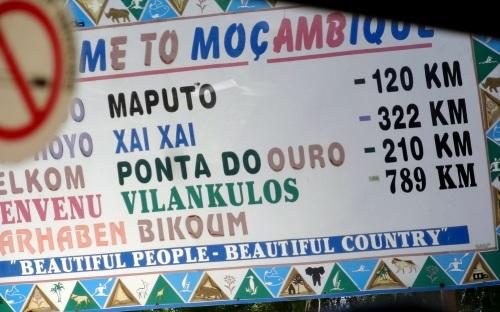 Velkommen til Mozambique