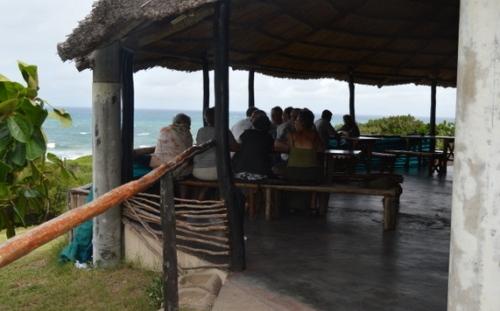 Frokost med udsigt over vandet