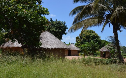 hytte i bushen