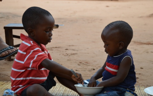 to små drenge